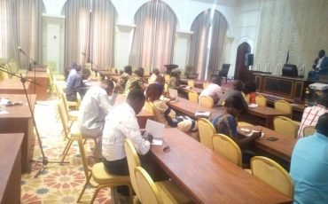 Formation à la Prévention des Risques Professionnels et Sécurité incendie au staff technique de l'Assemblée Nationale du Tchad (N'Djamena 27-02-2020)